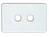 e series face plate 2 port
