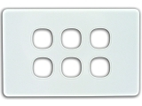 e series face plate 6 port