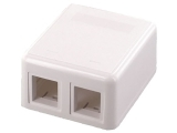 ecraft cat 6 surface mount rj458p8c dual