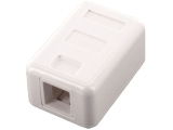 ecraft cat 6 surface mnt  rj45 8p8c sing