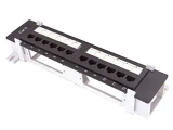 cat 5e 12 port mini patch panel