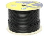 ecraft cat6 outdoor cable 305m black