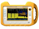 touch screen tv satellite analyser