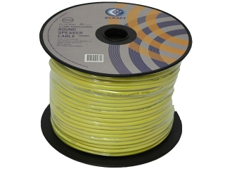 2 core 18awg speaker cable 100m