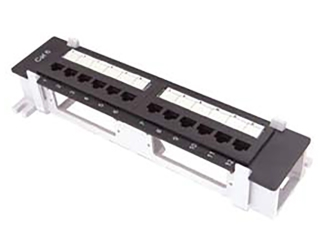 cat 6 12 port mini patch panel
