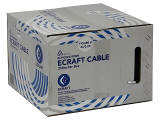 ecraft fig8 240 30 cable 250m box